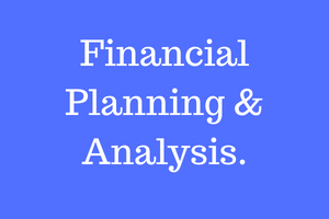 Accounting & Financial Control