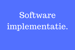 Software implementatie